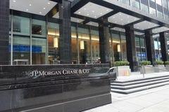 JPMorgan persigue jefaturas foto de archivo libre de regalías
