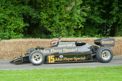 JPS Lotus F1 Royalty Free Stock Photos