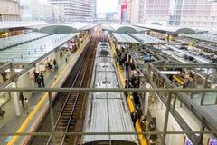 JR σταθμός τρένου της Οζάκα Στοκ Εικόνες