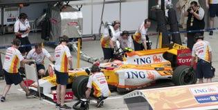 Jr. 2009 du Nelson Piquet au Malaysian F1 Prix grand Photo stock
