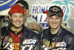 JR de Dale Earnhardt de gestionnaire de NASCAR photographie stock