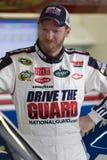 Jr. de Dale Earnhardt na garagem Fotografia de Stock