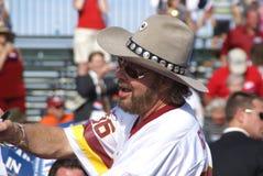 JR de Hank Williams en la reunión de Sarah Palin imagen de archivo