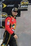 JR de Martin Truex del programa piloto de NASCAR   Foto de archivo libre de regalías