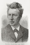 JR de t Hoff de fourgon de Jacobus Henricus '. Photos libres de droits