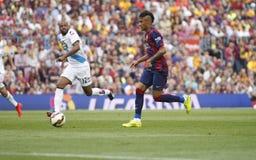 JR La Corogne Liga - España de Neymar de FC Barcelone v Fotos de archivo libres de regalías