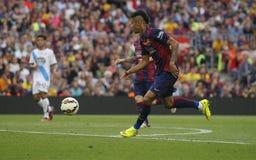 JR La Corogne Liga - España de Neymar de FC Barcelone v Fotografía de archivo