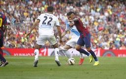 JR La Corogne Liga - España de Neymar de FC Barcelone v Imagen de archivo