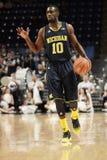 Jr. Michigan-Abdeckung Tims Hardaway. Lizenzfreie Stockfotos