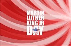 JR muestra de Martin Luther King del día stock de ilustración