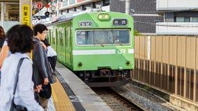 JR Nara Line Fotos de archivo libres de regalías
