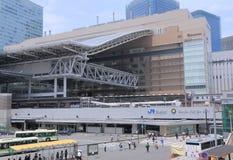 JR Osaka Station and bus terminal Japan Stock Photo