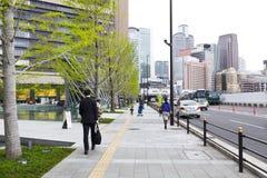 JR Osaka Station Royalty Free Stock Photos