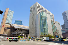 JR Osaka Station Royalty Free Stock Photo