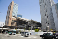 JR Osaka Station stock image