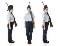 Jr. ROTC Girl Royalty Free Stock Image
