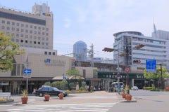 JR Sannomiya stacja Kobe Japonia obrazy stock