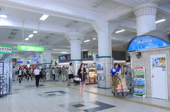 JR Sannomiya Train Station Kobe Japan  Royalty Free Stock Image