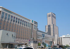 JR Sapporo Station Building Royalty Free Stock Photography