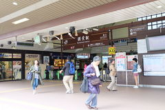 JR station de Kamakura Photos stock