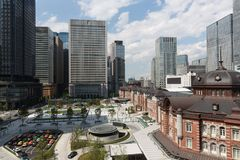 JR Tokyo Station in Tokyo, Japan.  Stock Images