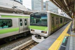 JR. Tokyo-U-Bahn Stockbild