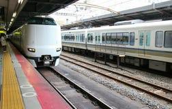 JR tren de Japón Osaka Fotos de archivo libres de regalías