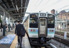 JR tren - JR estación - JR del este - Salaryman Imágenes de archivo libres de regalías