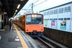 JR tren - JR estación - JR del oeste Imagenes de archivo