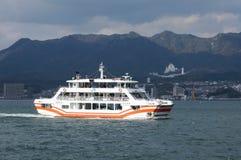 JR veerboot in Miyajima Royalty-vrije Stock Fotografie