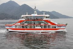 JR West ferry Royalty Free Stock Photography