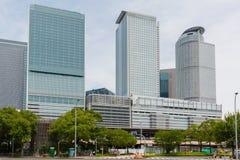 JR. zentrale Türme von Nagoya-Station in Japan Lizenzfreie Stockbilder
