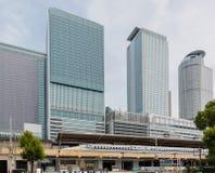 JR. zentrale Türme von Nagoya-Station in Japan Stockfoto