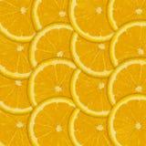 Orange fruit slice background Stock Photography