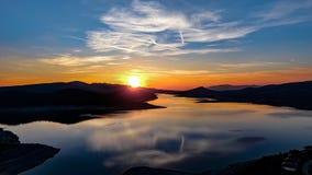 Jrebchevo Dam, Bulgaria royalty free stock images