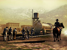 Järnväg konstruktion Royaltyfria Bilder