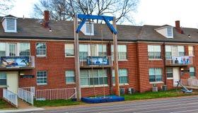 JROTC-Militär-Kasernen an der Universität von Memphis Stockfoto