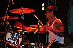 Jrx, superman punk della banda del rok del batterista è morto Fotografia Stock Libera da Diritti
