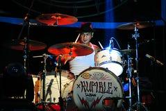 Jrx, superman punk della banda del rok del batterista è morto Immagini Stock