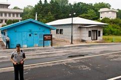 JSA DMZ Κορέα Στοκ Εικόνες