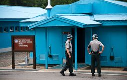 JSA DMZ Νότια Κορέα Στοκ φωτογραφίες με δικαίωμα ελεύθερης χρήσης