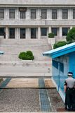 JSA DMZ Coreia Imagem de Stock Royalty Free
