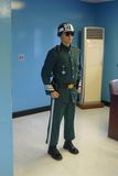 JSA - DMZ Guard. A South Korean guard on duty Royalty Free Stock Photography