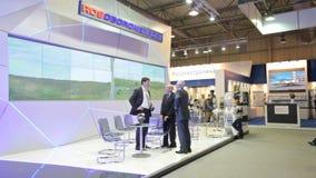 JSC Rosoboronexport stock video footage