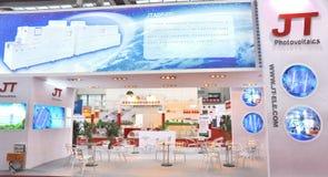 JT photovoltaïque Images stock