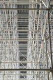 Jättelikt material till byggnadsställning för en bro Fotografering för Bildbyråer