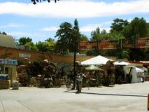 Ju-rustikaler Schaukasten, Los Angeles County angemessen, Fairplex, Pomona, Kalifornien lizenzfreie stockbilder
