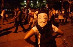 JU student rally. Stock Image