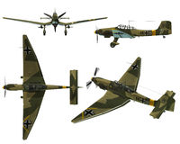JU87D Stuka Stock Photography