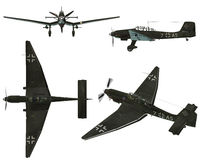 JU87D Stuka Royalty Free Stock Image
